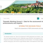 Screenshot - Thematic Working Group 6