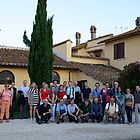 The above shows the workshop participants during the workshop excursion at the Cooperativa Agricola Tor S. Giovanni in the Riserva Naturale della Marcigliana.